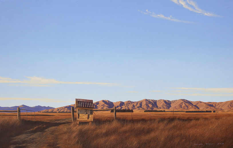 'Rural Delivery', Grahame Sydney, 2012.