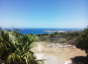 Rethymno and the Aegean from the University