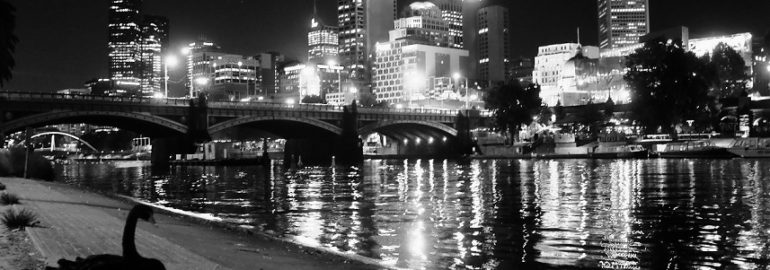 Melbourne by night. Photo credit: Kevin Rabalais